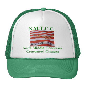 donttread, N.M.T.C.C., North Middle TennesseeCo... Trucker Hat