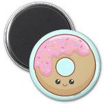Donut 2 Inch Round Magnet