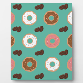 Donut and Coffee Beans Plaque