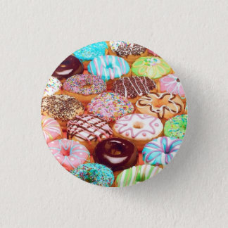 donut art design button