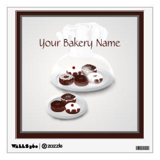 Donut Baker Bakery Shop Wall Decal