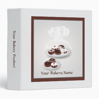 Donut Bakery Baker Shop Product Binder