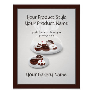 Donut Bakery Baker Shop Product Sign