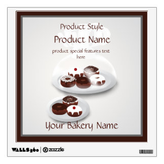 Donut Bakery Baker Shop Product Wall Decal
