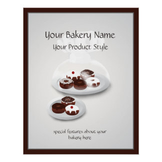 Donut Bakery Shop Floor Sign