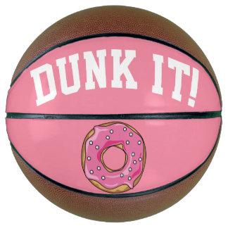 Donut Ball Strawberry Basketball