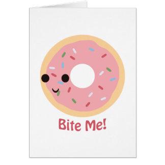 Donut Bite Me! Card