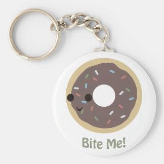 Donut Bite Me Key Chains