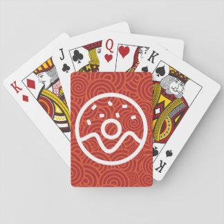 Donut Bites Symbol Playing Cards