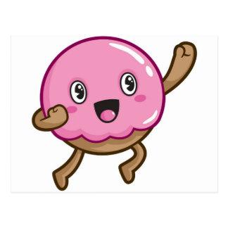 Donut Boy Postcard