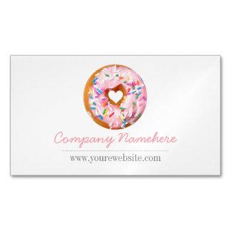 Donut Business Card Magnet