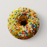"DONUT BUTTON<br><div class=""desc"">When I made these,  they were vegan. This button,  however,  is not.</div>"