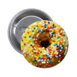 Donut Button at Zazzle