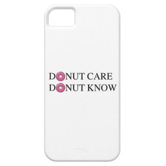 Donut Care Donut Know iPhone SE/5/5s Case