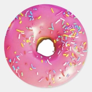 Donut Classic Round Sticker