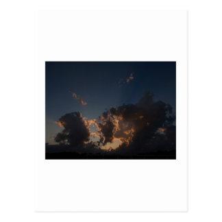 Donut Cloud Burst Postcard