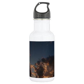 Donut Cloud Burst Water Bottle