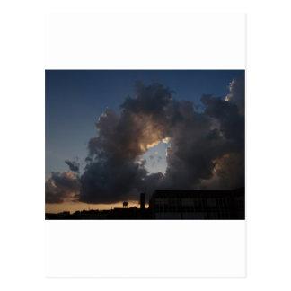 Donut Cloud Postcard