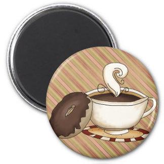 Donut Coffee Magnet