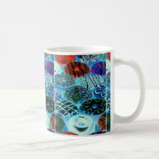 donut colors coffee mug