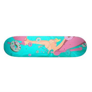 donut crazy skateboard deck