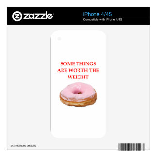 DONUT DECAL FOR iPhone 4
