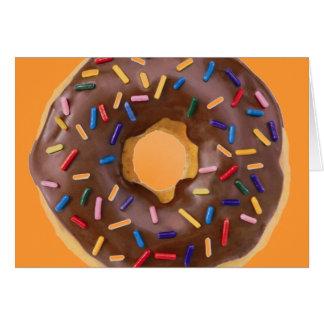 donut design card