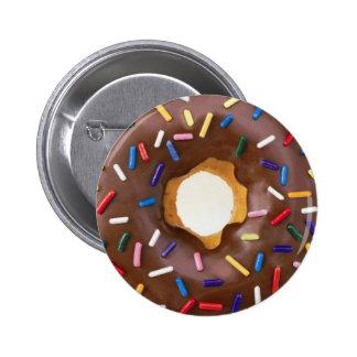 donut design pinback button
