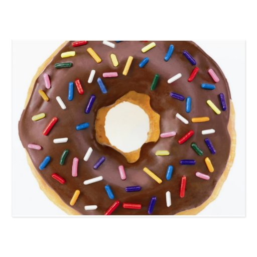 donut design post card