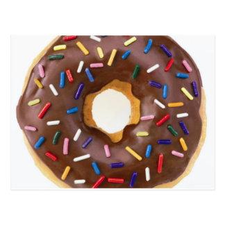 donut design postcard