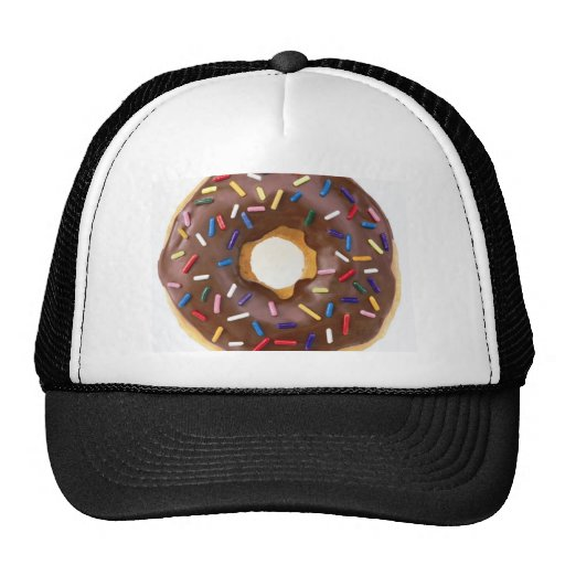 donut design trucker hats