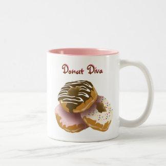 Donut Diva Mug