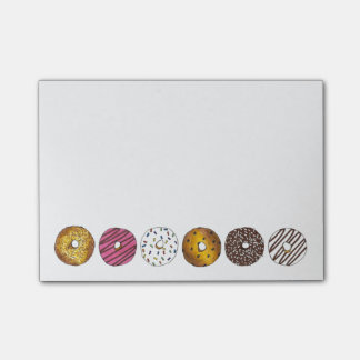 Donut Donuts Doughnut Breakfast Foodie Post Its Post-it Notes