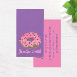 Donut Doughnut Shop Bakery Food Baking Donuts Business Card