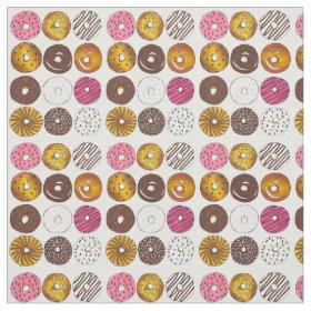 Donut Dozen Fabric