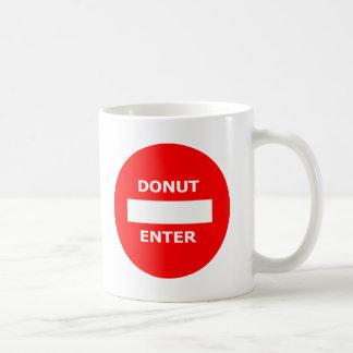 DONUT ENTER mug