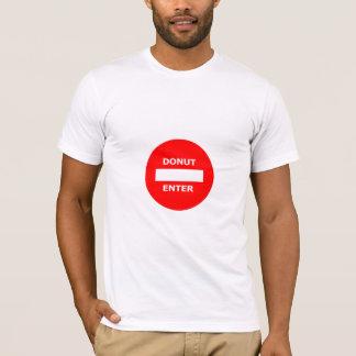 DONUT ENTER t-shirt