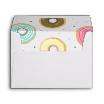 Donut Envelope Doughnut Sweet pink blue Girl