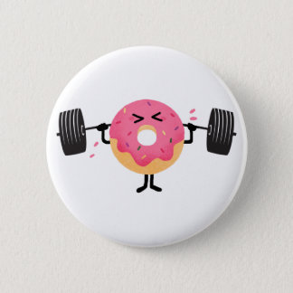 Donut fitness button