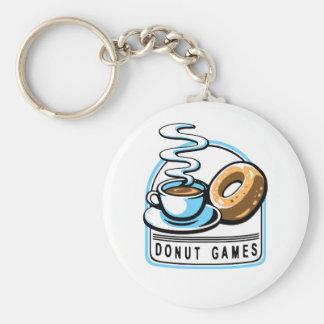 Donut Games Keychain