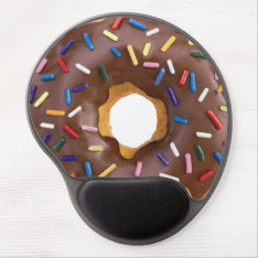 Donut Gel Mousepad at Zazzle
