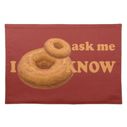 Donut Humor custom placemat