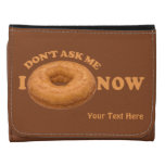 Donut Humor custom wallets