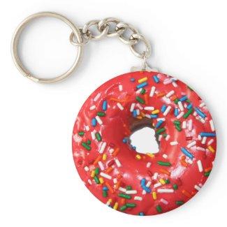 Donut Keychain keychain