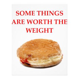 donut letterhead