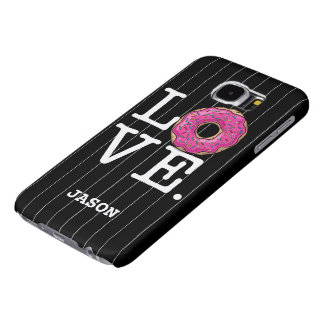 Donut Love Funny Food Samsung Galaxy S6 Case