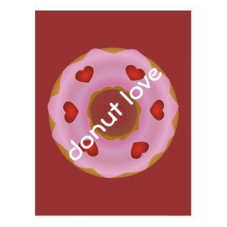 donut love postcard