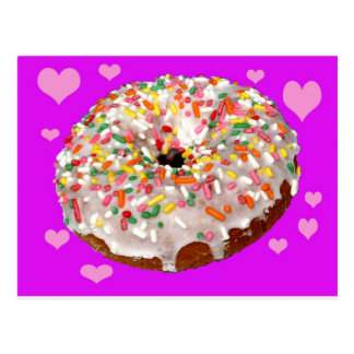 Donut Lovers Unite! Postcard
