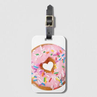 Donut Luggage Tag