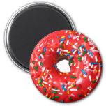 Donut Magnet 2 Inch Round Magnet